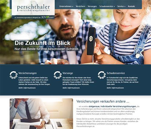 perschthaler webseite fixfertig mieten