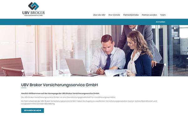 ubv-broker webseite-massgefertigt